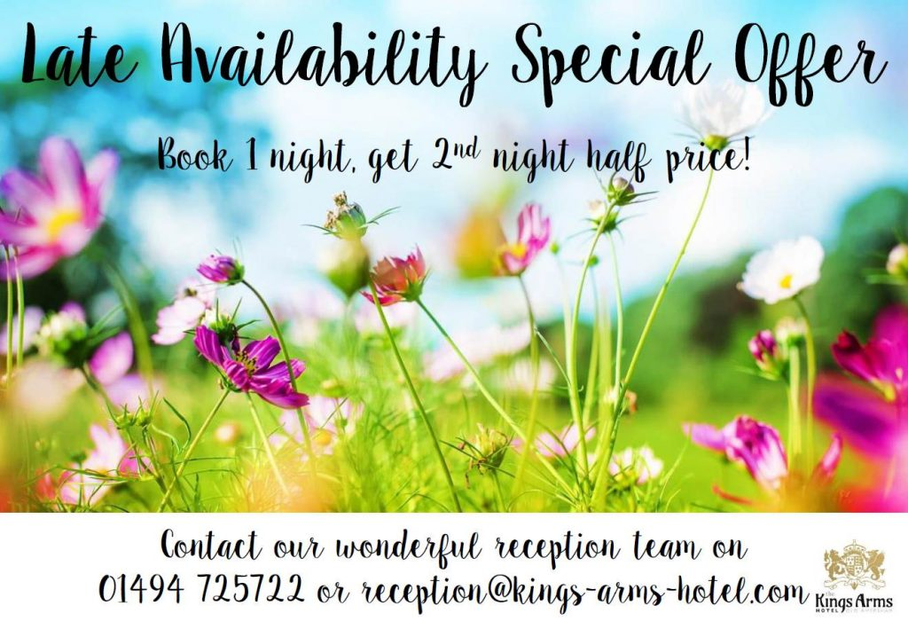 Spring Accommodation Offer