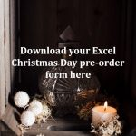 Excel Christmas Day Pre-order Form
