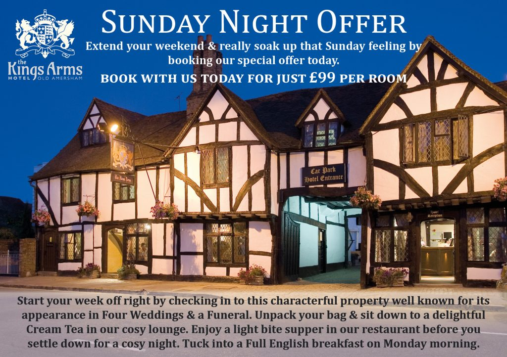 Sunday Night Offers at the Kings Arms_FINAL